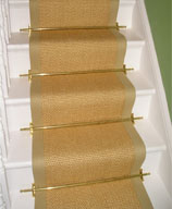 Honey Sisal Runner with Beige Border