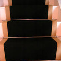 Black Sisal Stair Runner